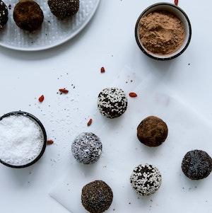 Boules de chocolat